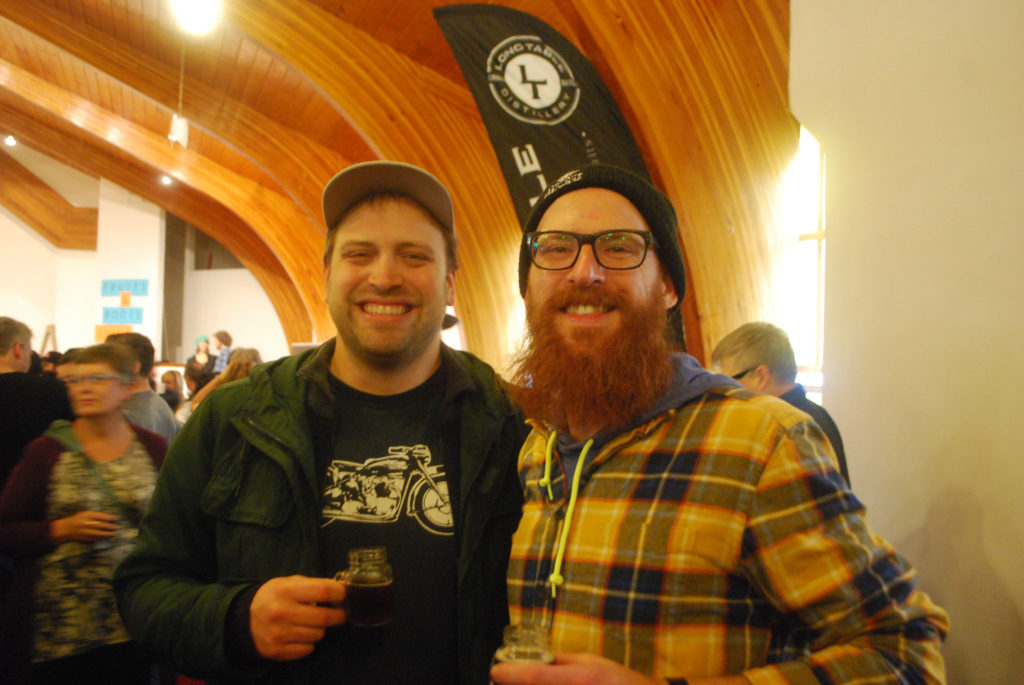 Scott Martin and Cedric Dauchot of Townsite Brewing
