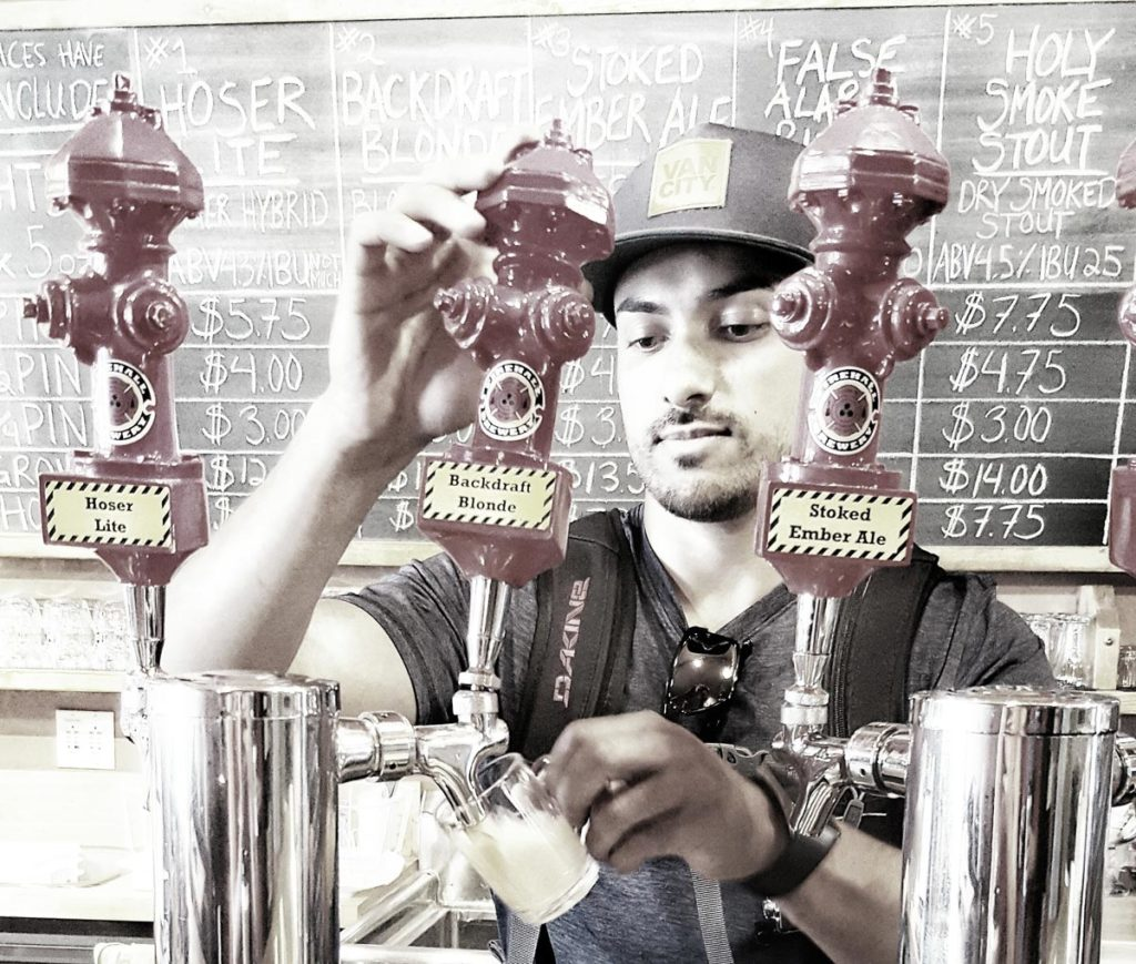 Personal Ale Trail Nimai Pours at Firehall Brewing