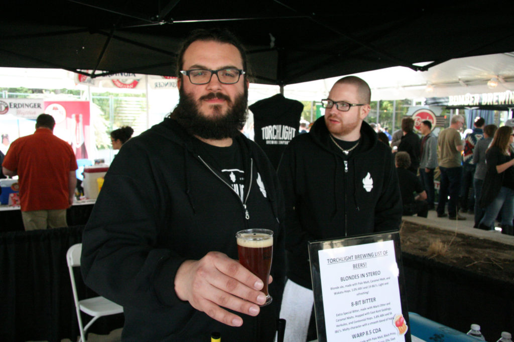 Torchlight Brewing at the 2015 Fest of Ale.