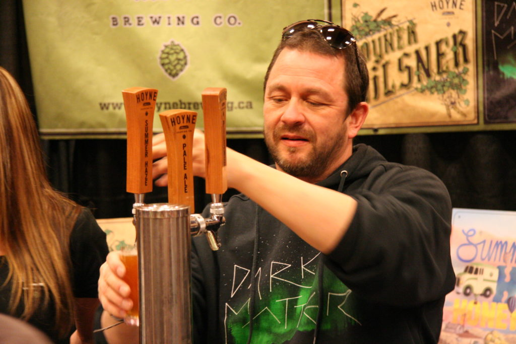 Hoyne Brewing at the 2015 Fest of Ale in Penticton.