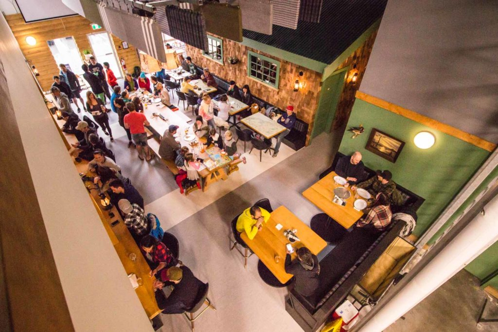 Squamish Ale Trail Backcountry Brewing Tasting Lounge from Above