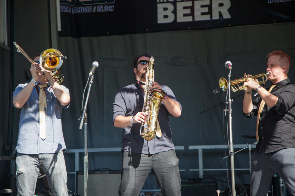 Vancouver Craft Beer Week Band On Stage