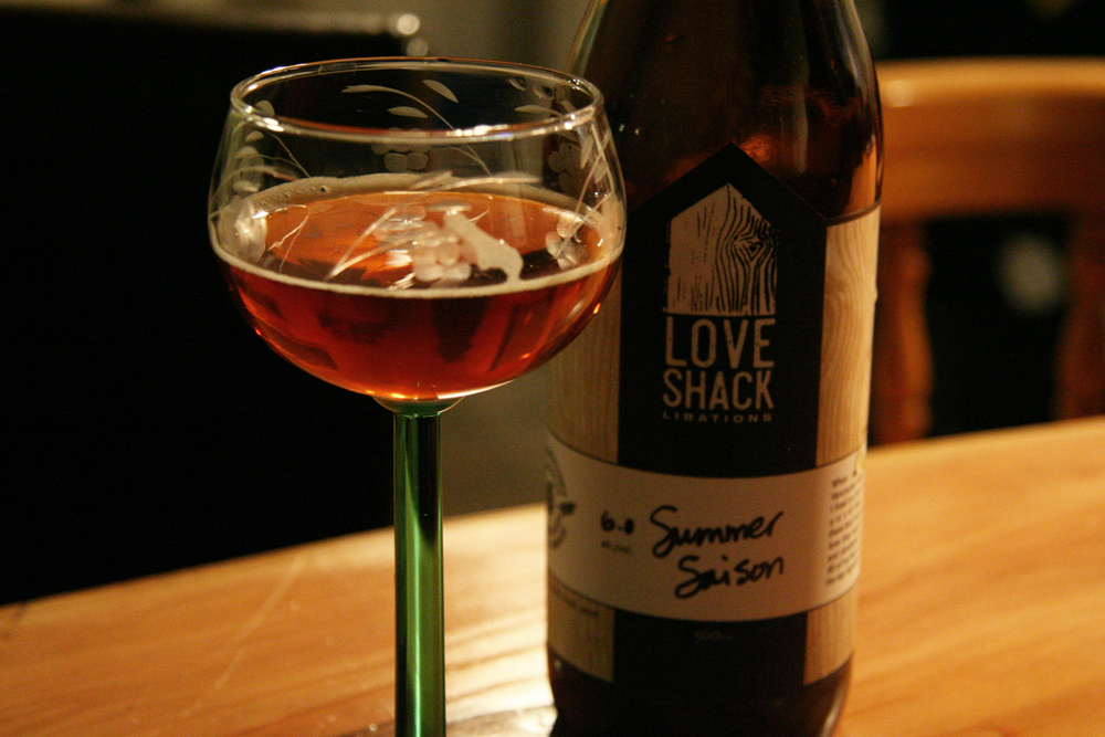Love Shack Libations Summer Saison. Photo: Jan Zeschky