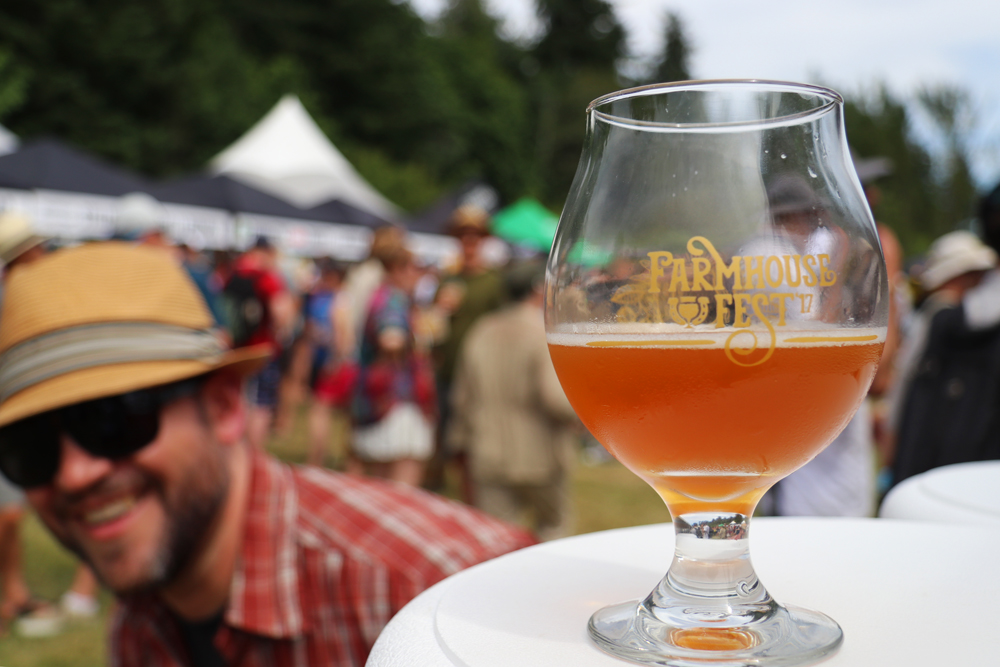 Farmhouse Fest 2017, UBC Farm, Vancouver BC craft beer