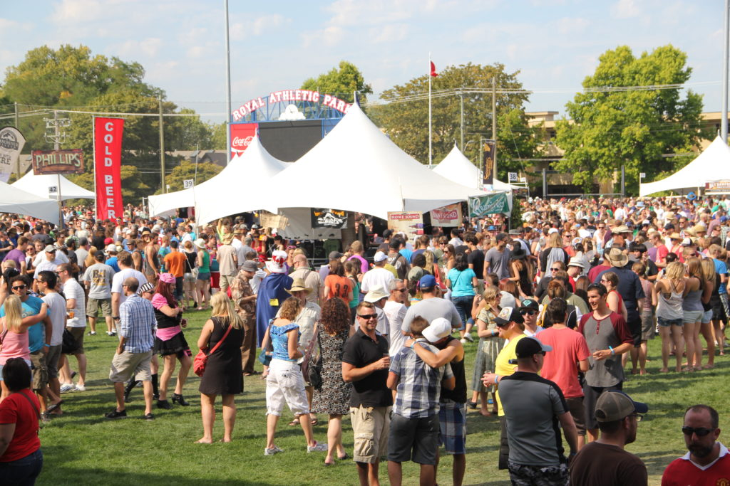 Great Canadian Beer Festival, Victoria