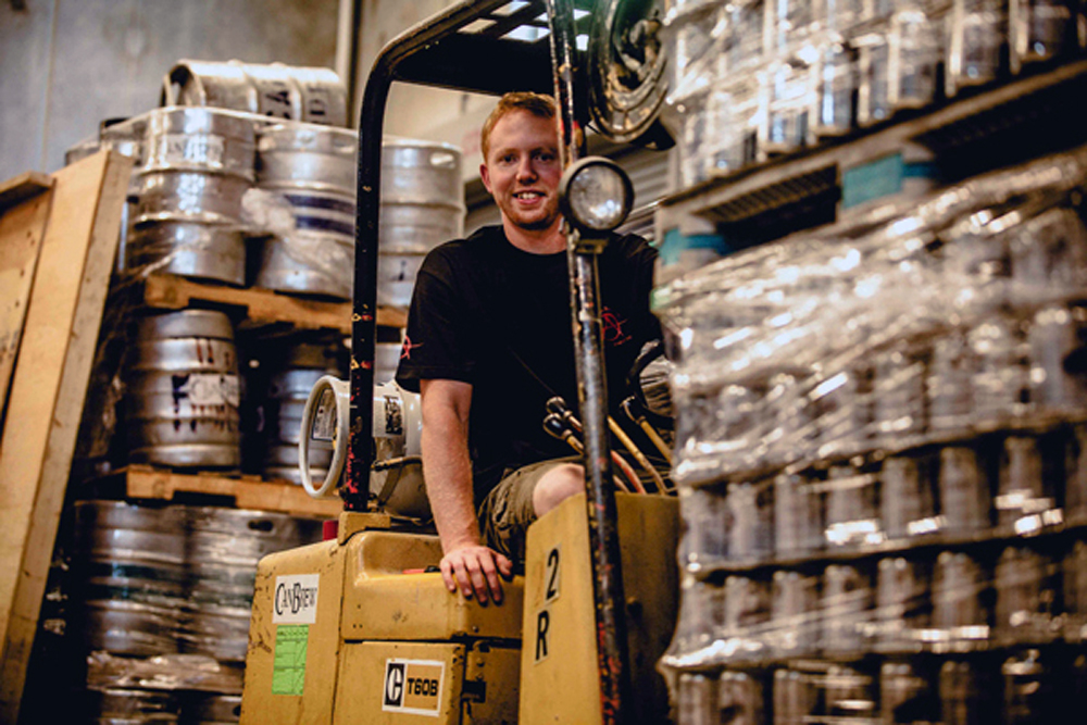 Ross Thompson, Cannery Brewing