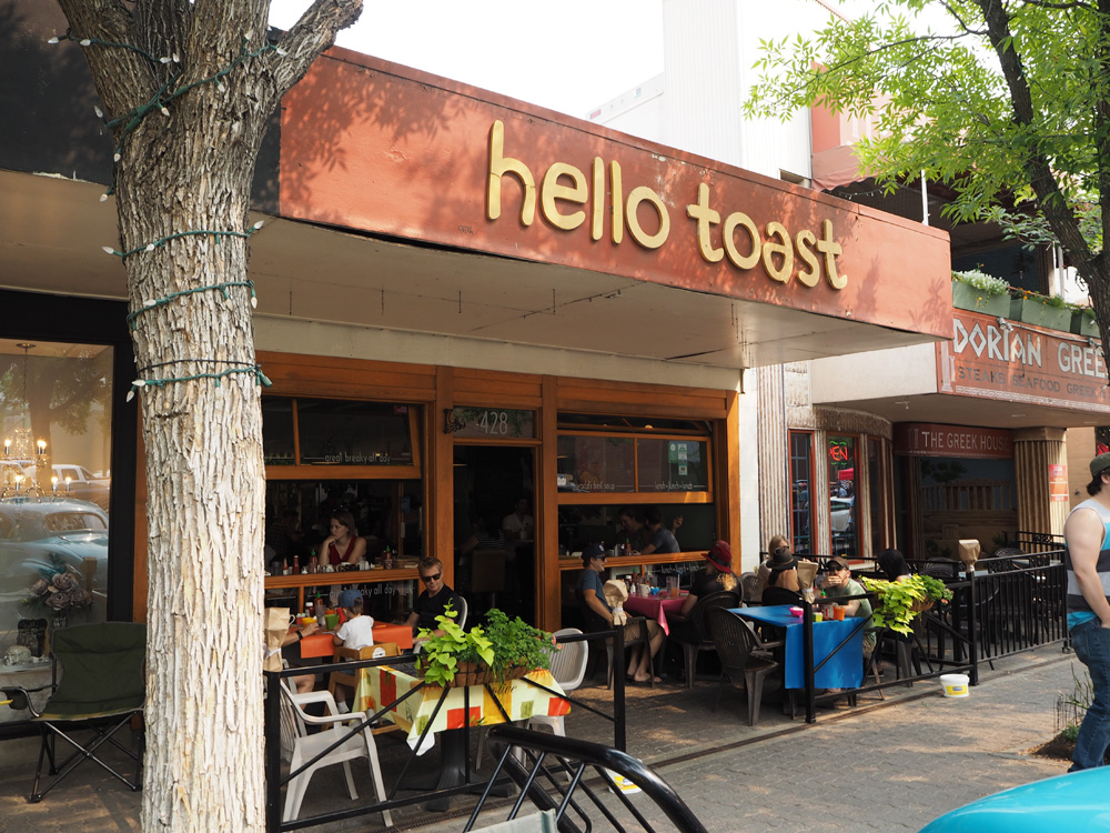 Hello Toast is a top brunch spot in downtown Kamloops. Photo: Chelsea McDowell
