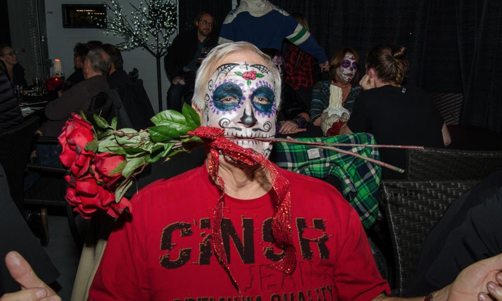 A guest at the 2016 launch party. (Photo: Derek Hurst)