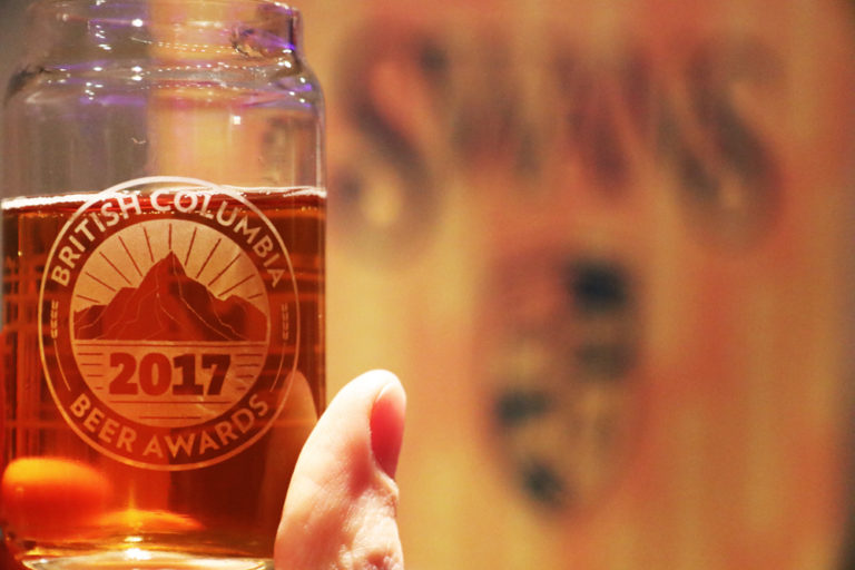 Oktoberfest Flammenbeer by Swans and White Sails, winner of Best in Show at the 2017 BC Beer Awards.