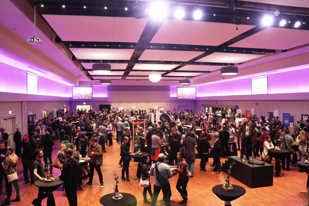 The Croatian Cultural Centre hosted the eighth annual BC Beer Awards. (Photo: Jan Zeschky)