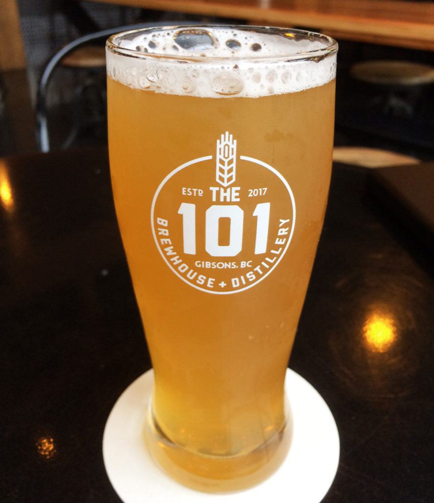 The 101 Brewhouse, Gbsons BC craft beer
