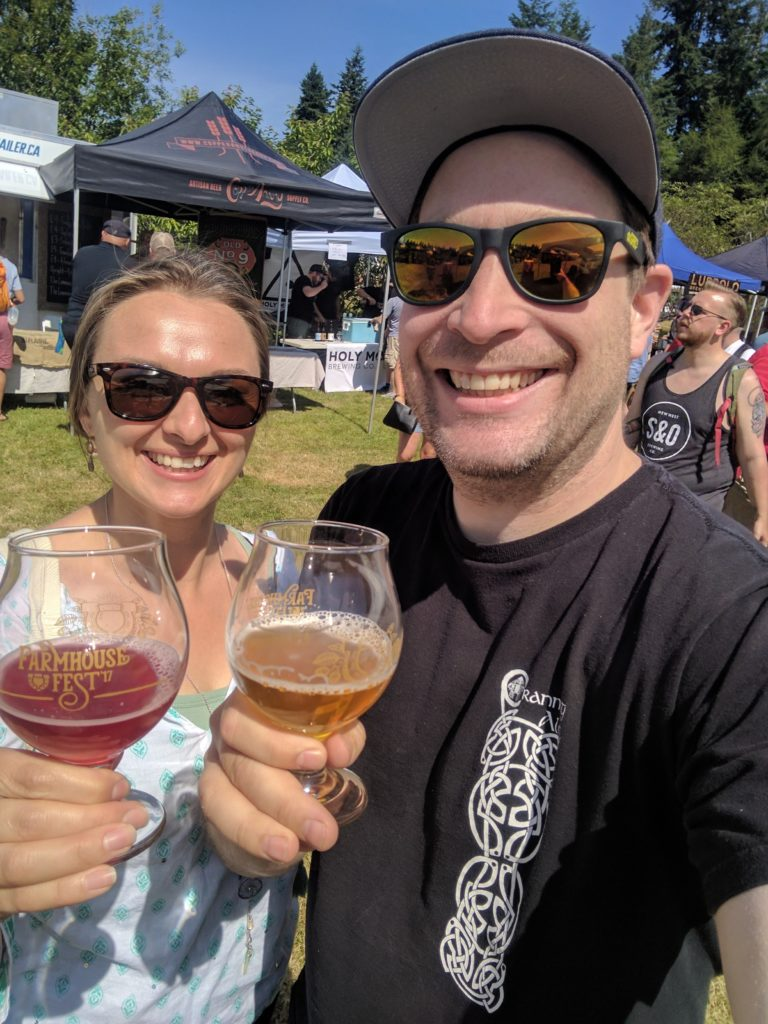 Farmhouse Fest | Matt & Jocelyn | BC Ale Trail