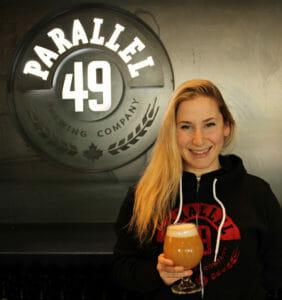 Marissa Mills Parallel 49 Brewing
