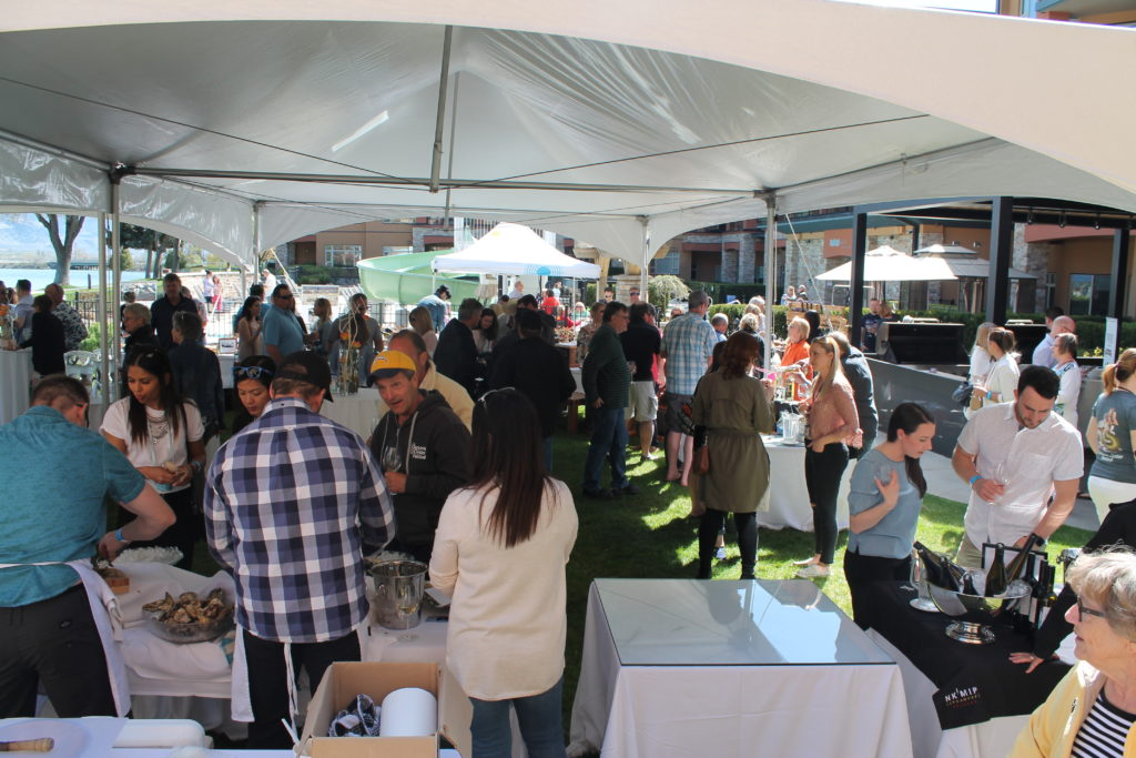 BC Ale Trail - Osoyoos Oyster Festival - Garden Party