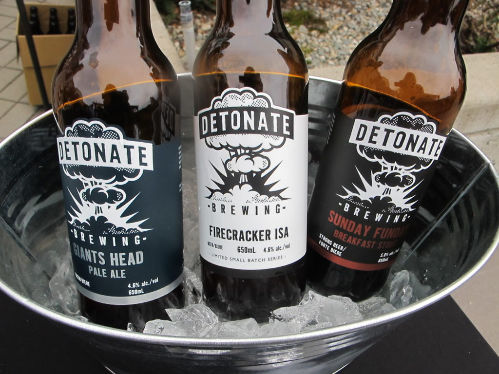 BC Ale Trail - Osoyoos Oyster Festival - Detonate Brewing