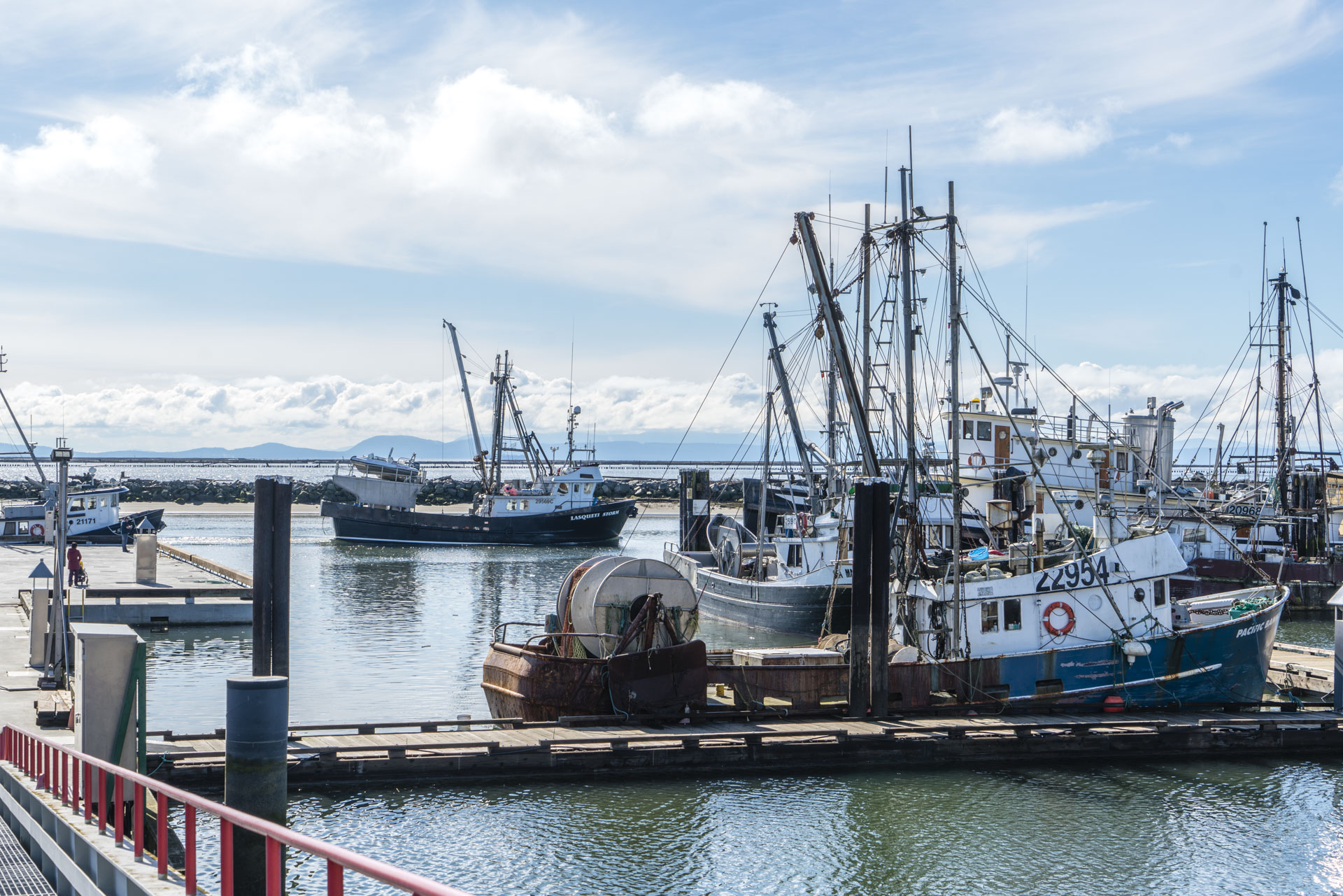 South Fraser Fishermans Wharf Steveston