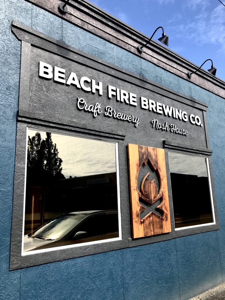 BC Ale Trail - Craft Beer Tourist - Beach Fire Brewing