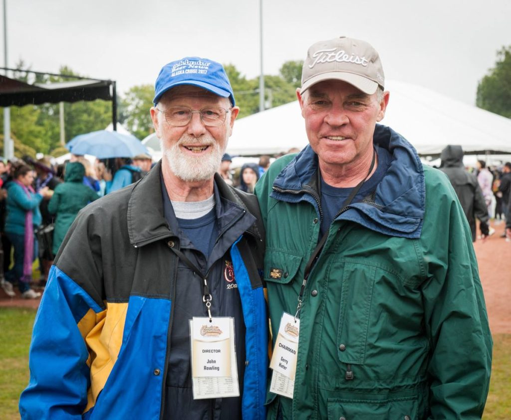 John Rowling and Gerry Hieter | Great Canadian Beer Festival