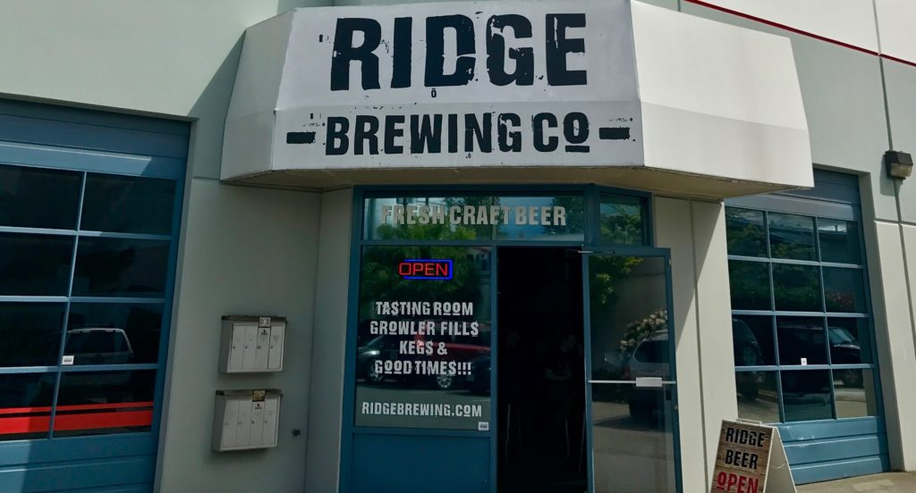 BC Ale Trail - Craft Beer Tourist - Ridge Brewing Co