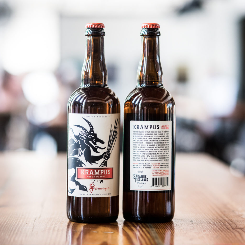 Krampus by Strange Fellows Brewing, photo credit Olga Zwart
