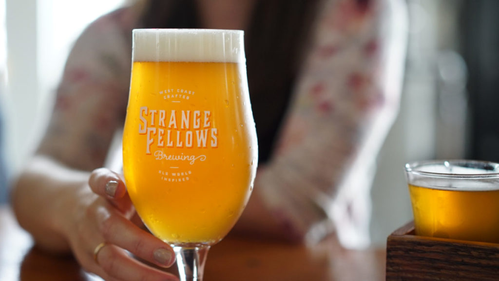 Strange Fellows Beer