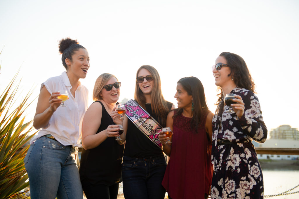 bachelorette party craft beer BC Ale Trail