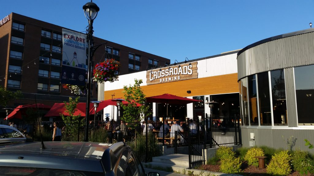 image of CrossRoads Brewing in Prince George, BC