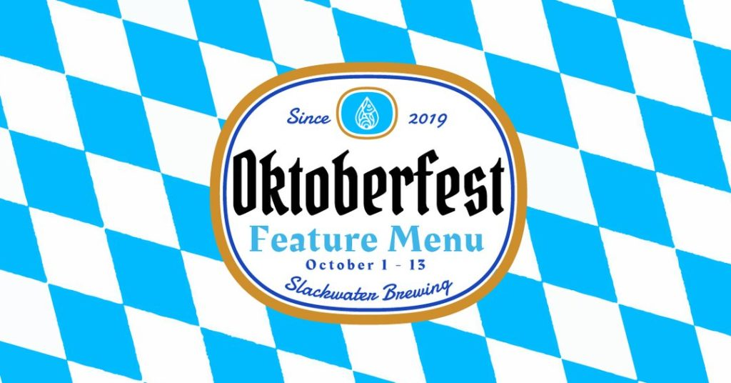 Slackwater Brewing in Penticton hosts Oktoberfest event, October 1st to 13th