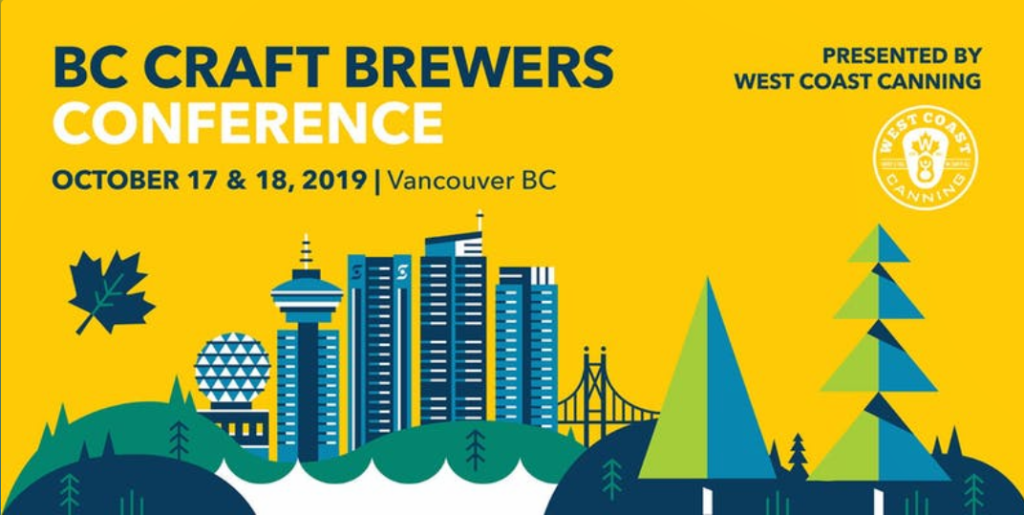 bc craft brewers conference held October 17th and 18th in Vancouver for BC Craft Beer Month