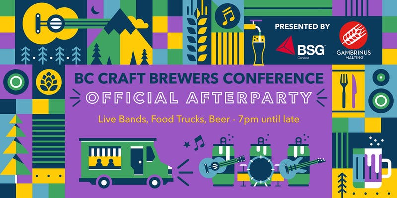 bc brewers conference afterparty hosted on October 18th, 2019 during BC Craft Beer Month