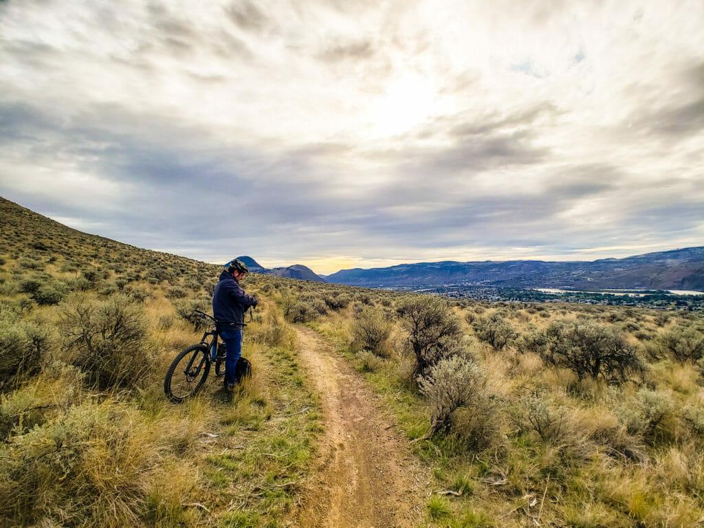 Kamloops biking
