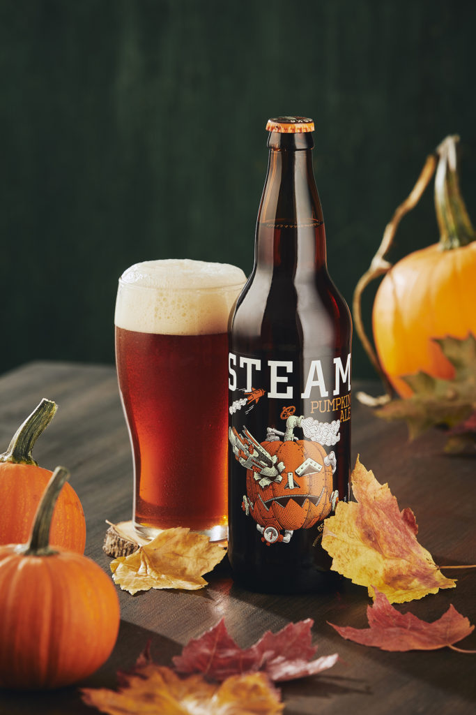 Steamworks Brewery's Pumpkin Ale for Halloween 2019