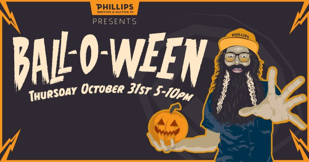Balloween event at Phillips Brewing in Victoria