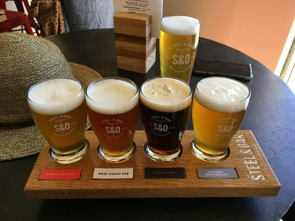 Steel and Oak gateway beers
