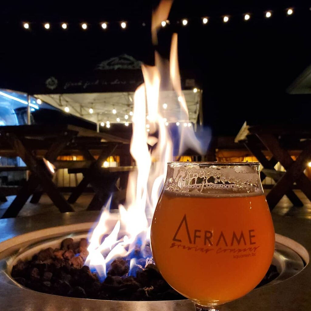 A-Frame Brewing on the BC Ale Trail