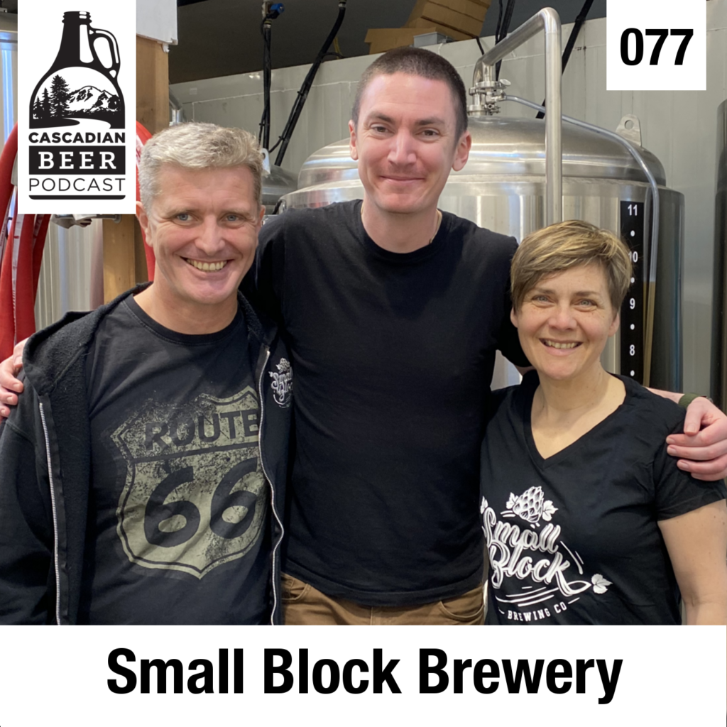 Small Block Brewing on the BC Ale Trail