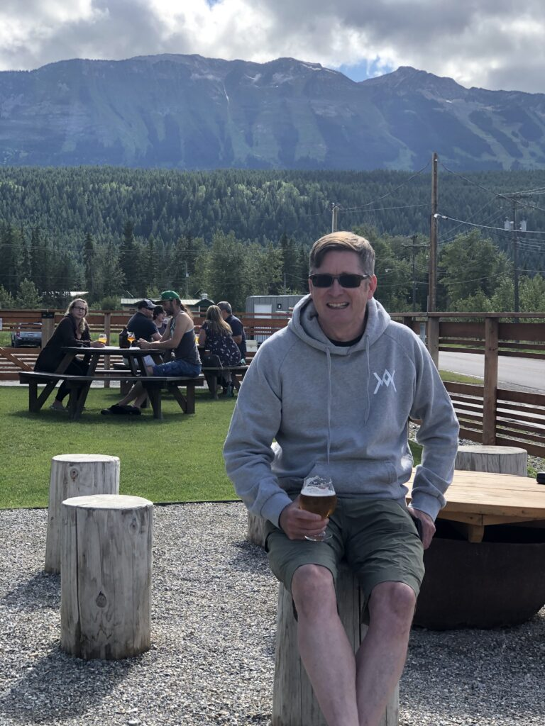 Kent Donaldson, co-owner of Whitetooth Brewing on the BC Ale Trail