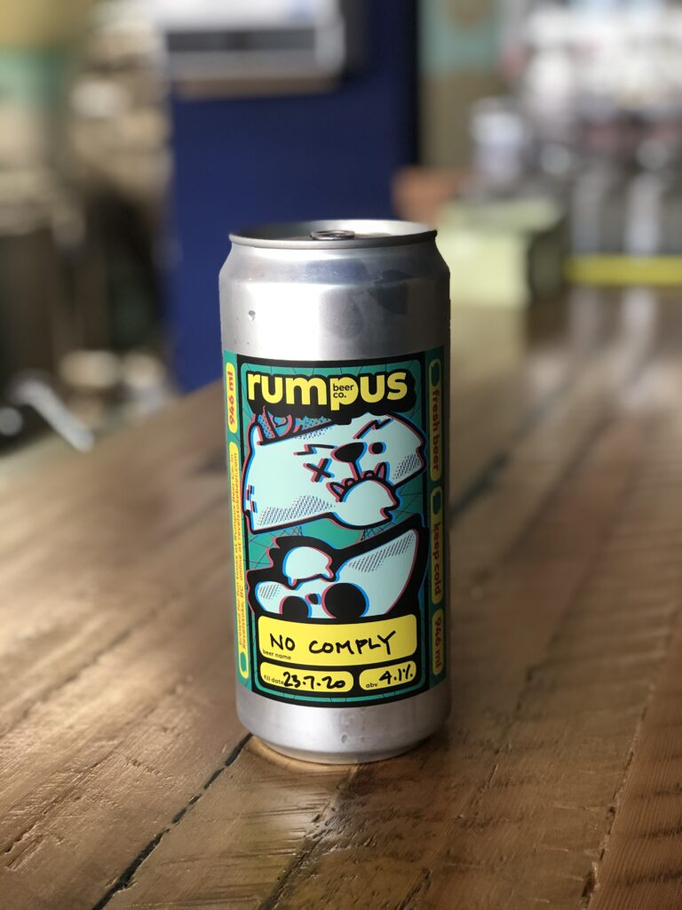 No Comply from Rumpus Beer Co. on the BC Ale Trail