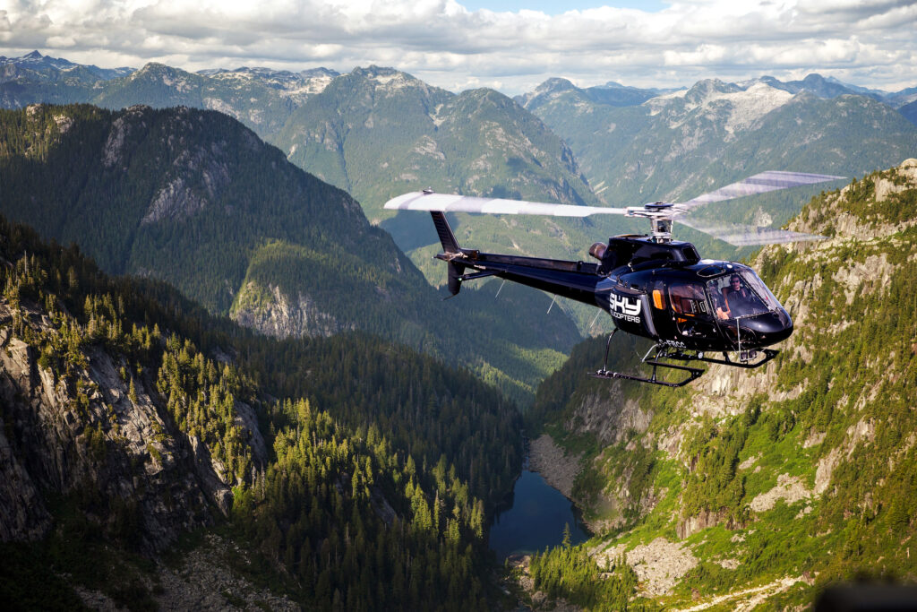 Sky Helicopters West Coast Craft Beer Tour