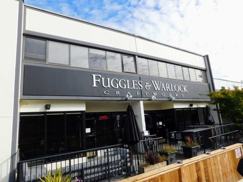 Fuggles & Warlock on the BC Ale Trail