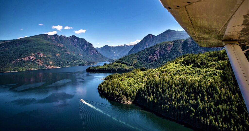 Sunshine Coast Air on the BC Ale Trail