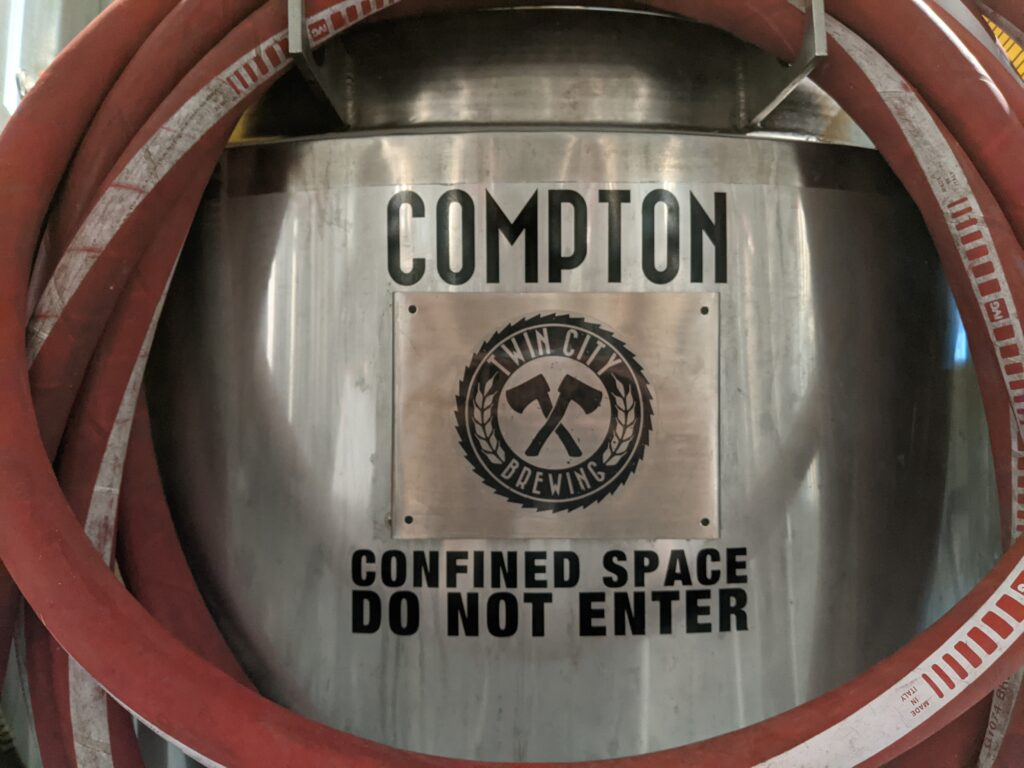 A Tank named Compton