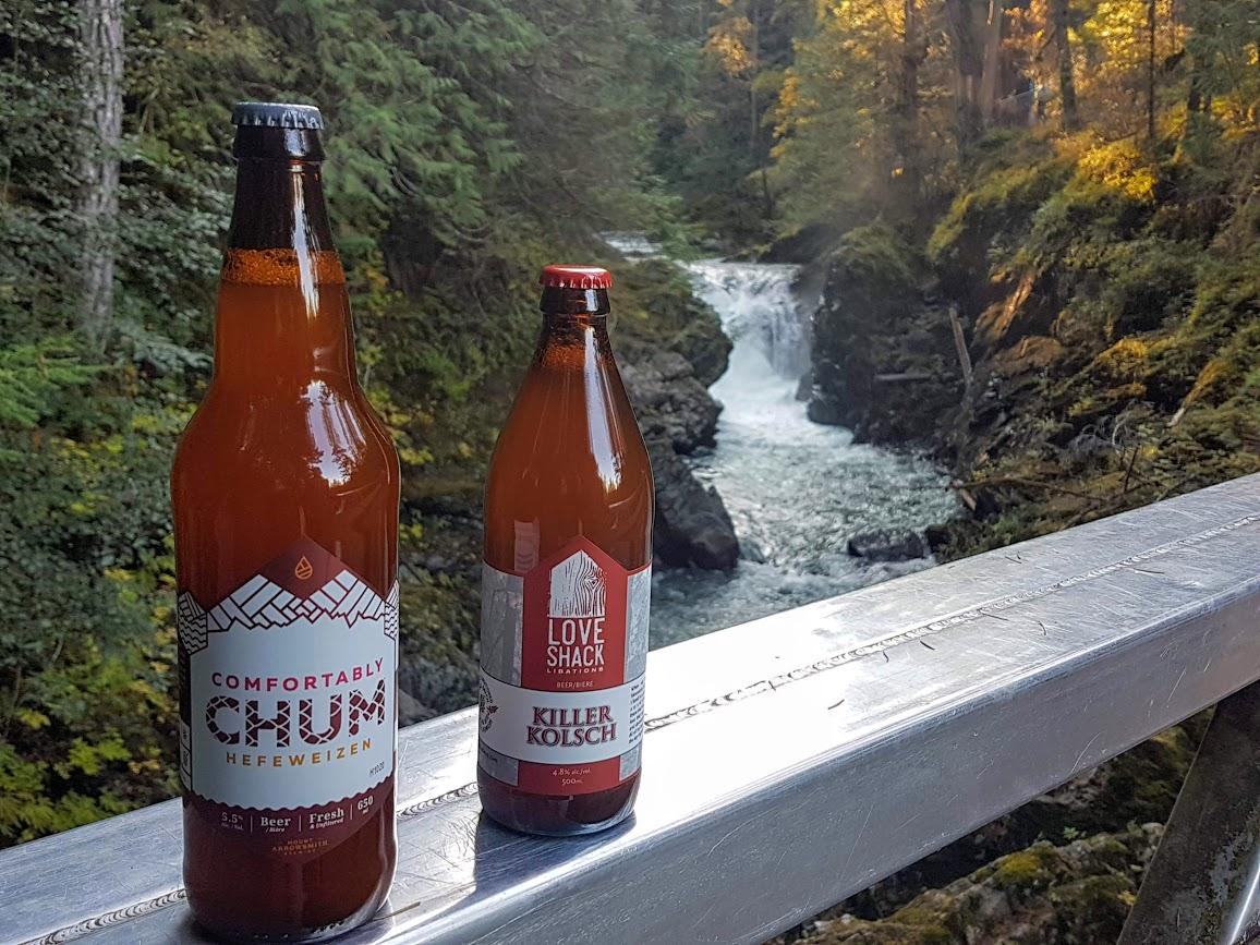 waterfalls and craft beer