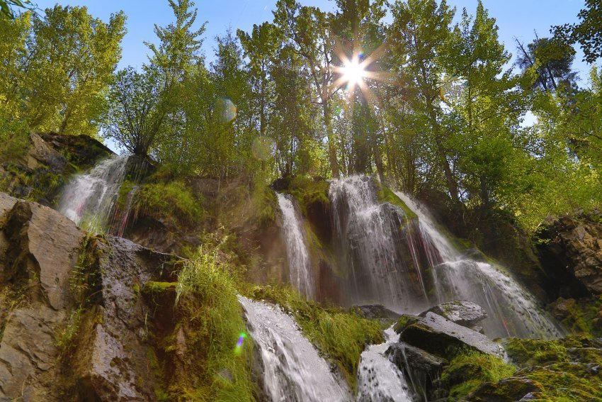 Naramata Creek Falls on the BC Ale Trail
