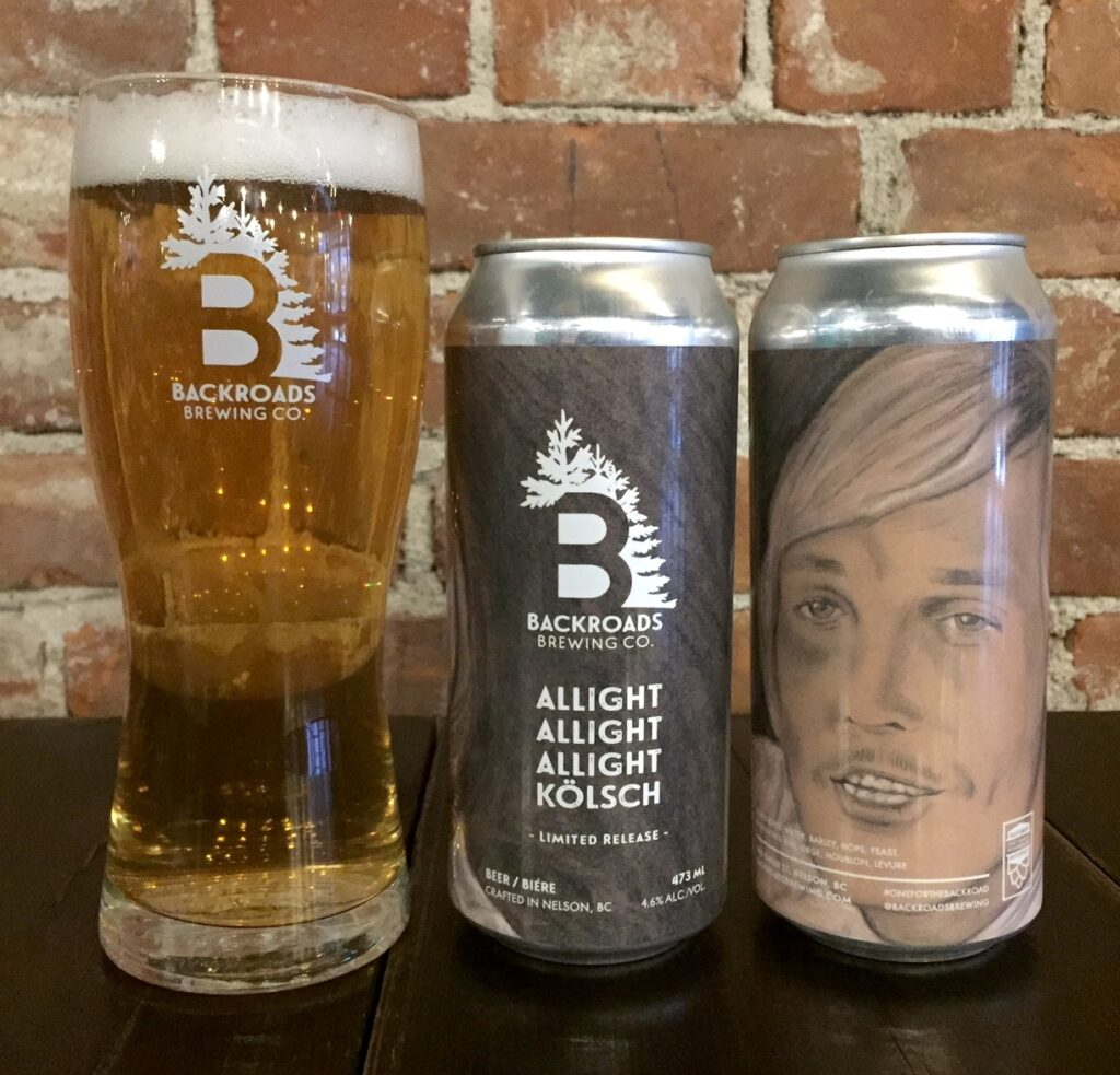 Kootenay beer beer names - Backroads Brewing Company - supplied photo