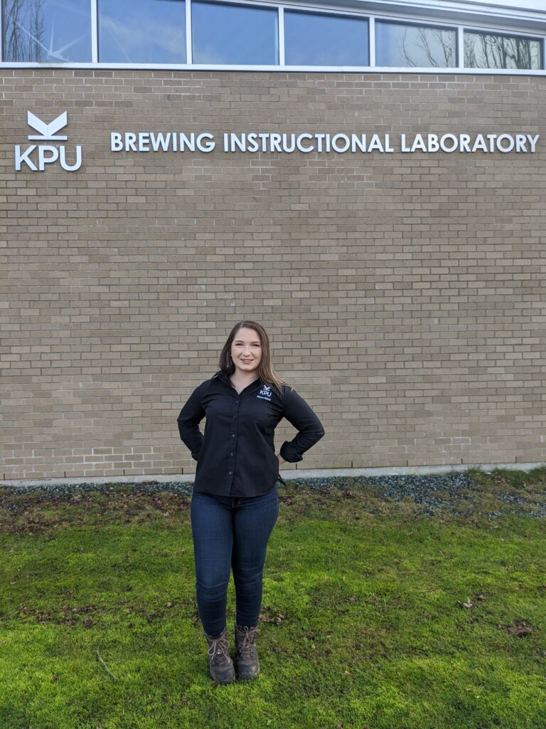 Emily Comeau - KPU Brewing - supplied photo