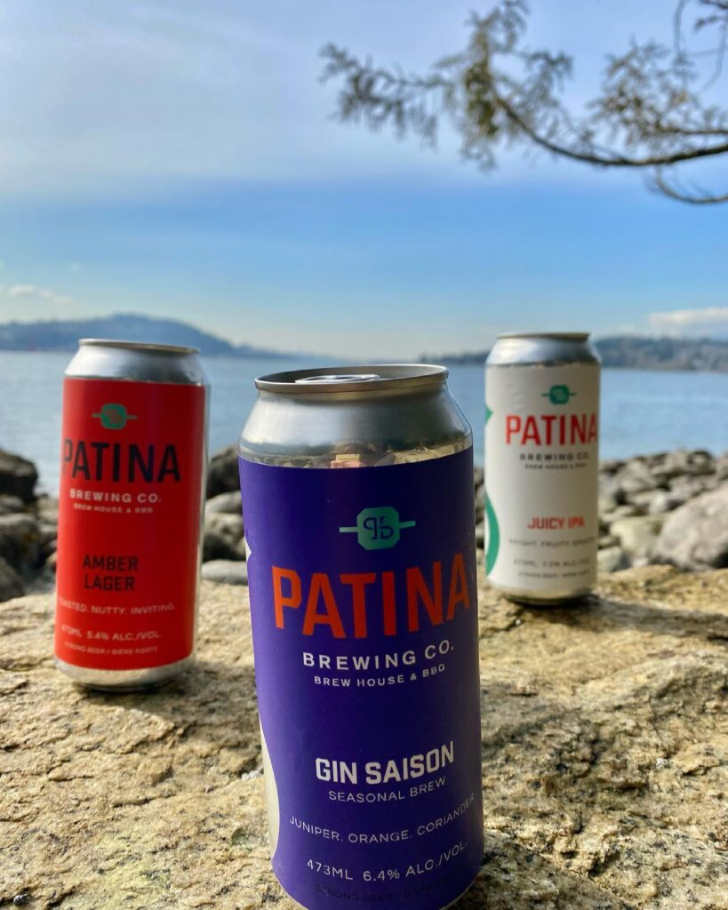 Patina Brewing on the BC Ale Trail