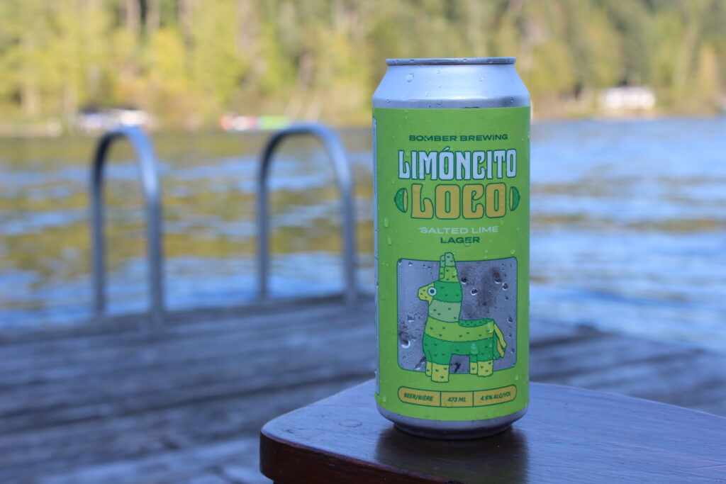 Bomber Brewing Limoncito Salted Lime Lager