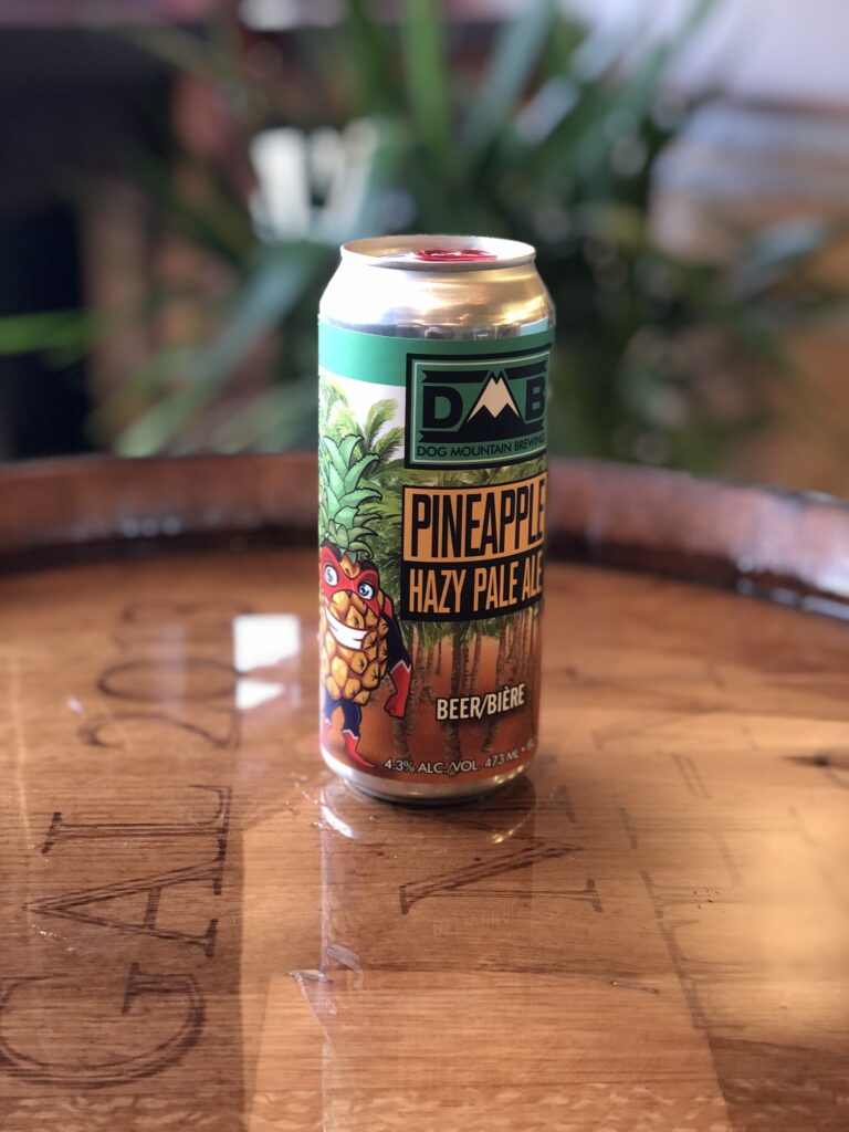 Pineapple Hazy Pale Ale - Dog Mountain Brewing