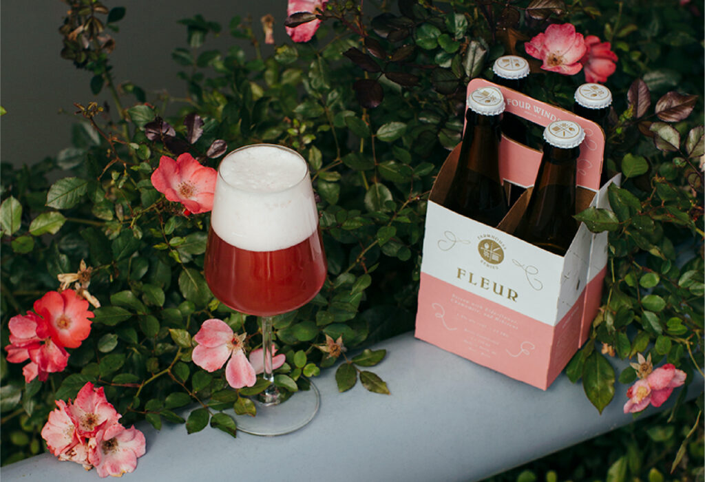 spring beer releases Four Winds Brewing - Fleur